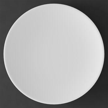 MetroChic blanc underplate/cake plate, 33 cm diameter, white