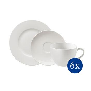 vivo   Villeroy & Boch Group Basic White Coffee Set 18pcs