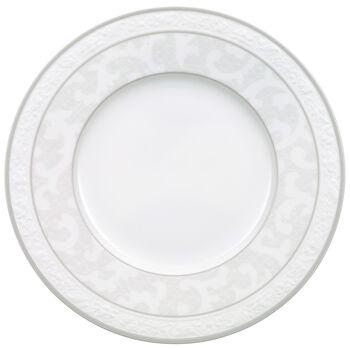 Gray Pearl bread plate