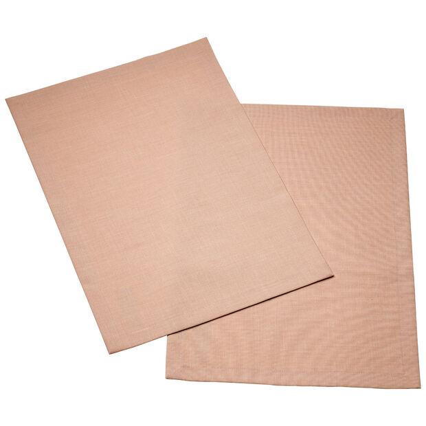 Textil Uni TREND Placemat rose peony Set 2 35x50cm, , large