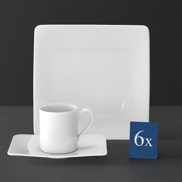 Modern Grace coffee set, 18 pieces, , large