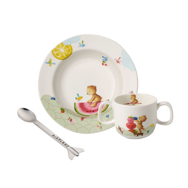 Hungry as a Bear Children's crockery set, 3pcs., , large