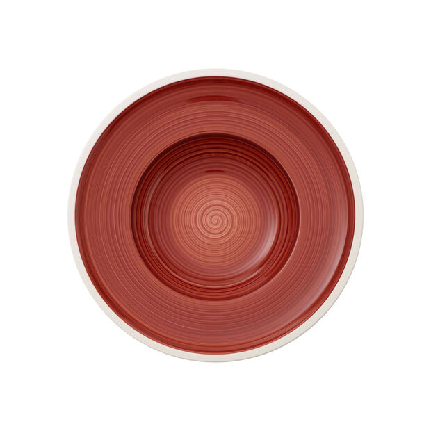 Manufacture rouge Deep plate 25cm, , large