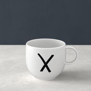 Letters Mug X 13x10x8cm