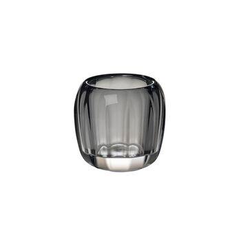 Coloured DeLight small tea light holder Cosy Grey