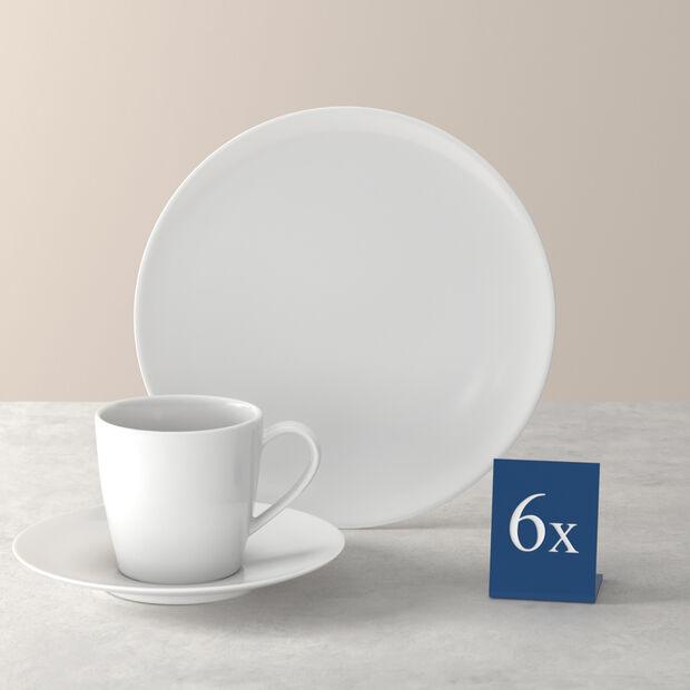 Voice Basic coffee set, white, 18 pieces, , large