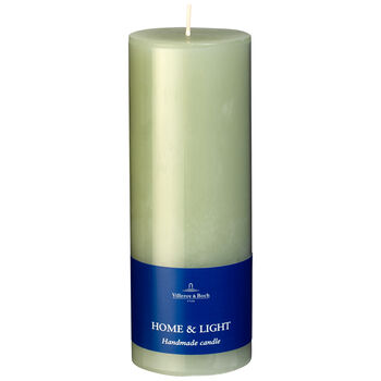 Essentials Candles Fog Green Pillar 7x19 7x19cm
