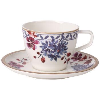 Artesano Provençal Lavender Coffee cup & saucer 2pcs