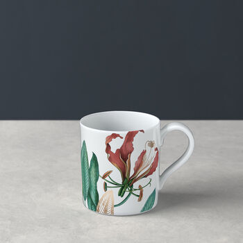 Avarua coffee cup, 210 ml, white/multicoloured