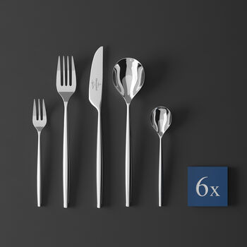 MetroChic Cutlery set 30pcs 42x27x5cm