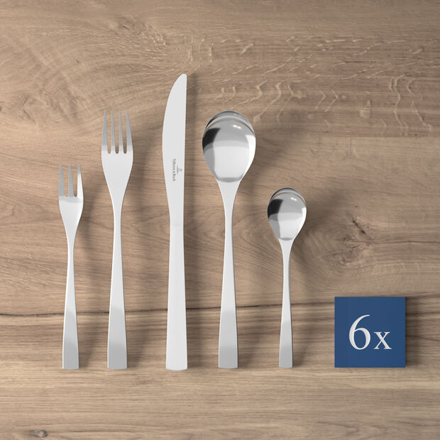 Modern Line cutlery set 30 pieces, , large