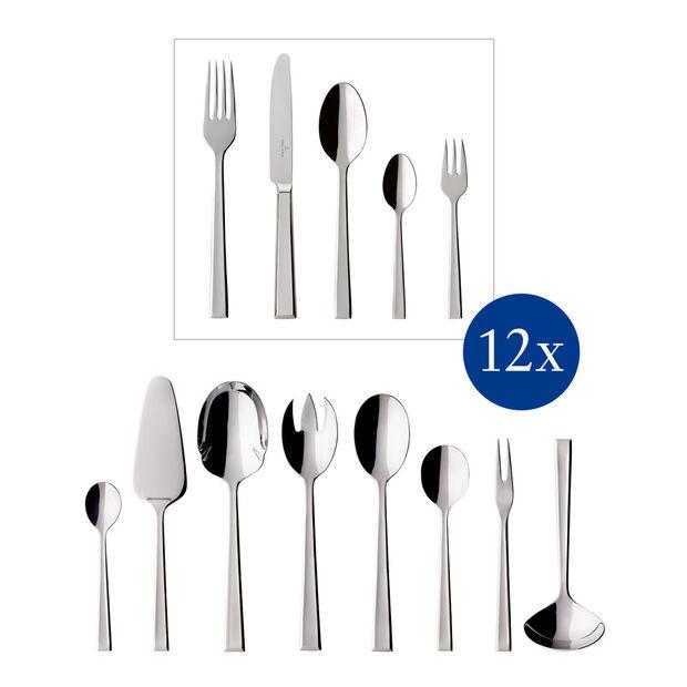 Victor Cutlery set 68pcs 44x29x9cm, , large