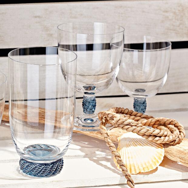 Montauk Aqua small wine glass, , large