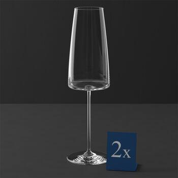 MetroChic champagne glass , 2 pieces, 450 ml