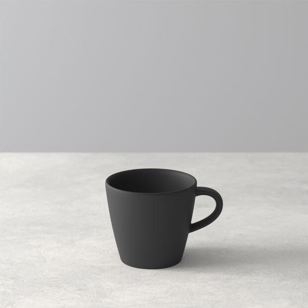 Manufacture Rock espresso cup, black/grey, 8.5 x 6.5 x 6 cm, , large