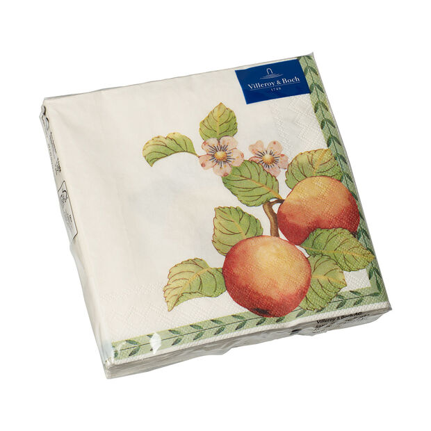 Paper Napkins French Garden Modern Fruits, 20 pieces, 33x33cm, , large