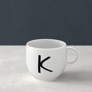 Letters Mug K 13x10x8cm