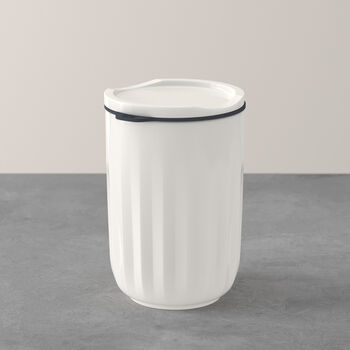 ToGo&ToStay mug, with lid, 450 ml, white