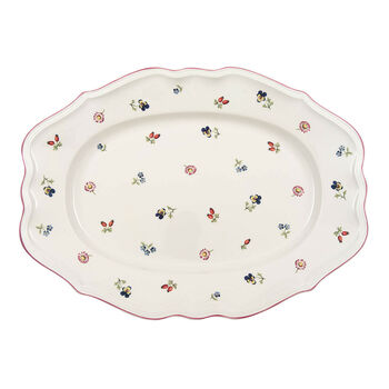Petite Fleur oval plate 37 cm