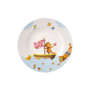Happy as a Bear Children flat plate 21,5x21,5x1,5cm