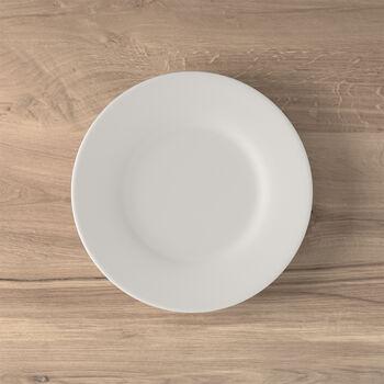 Twist White breakfast plate