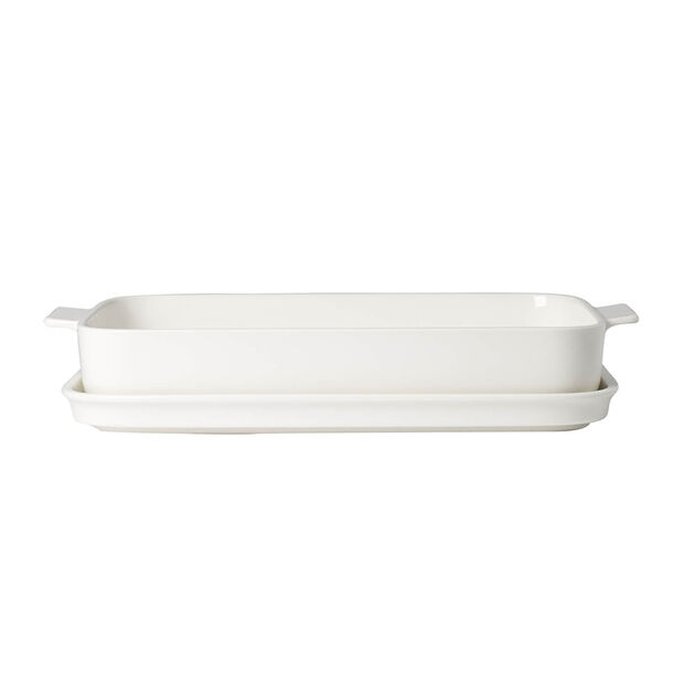 Clever Cooking Baking dish with lid, rectangular 34x24cm, , large