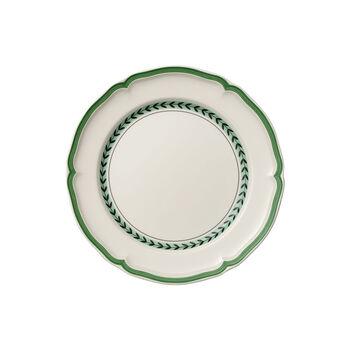 French Garden Green Line dinner plate