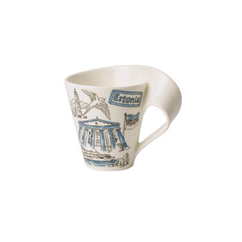 Cities of the World coffee mug Estonia