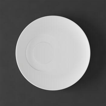 MetroChic blanc Saucer coffee cup 18,5x18,5x2cm