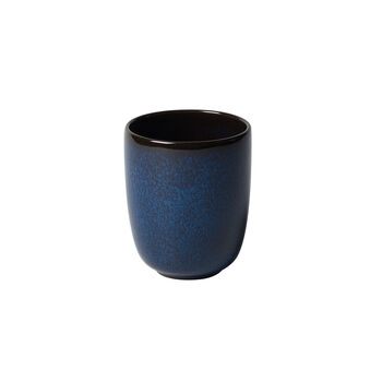 Lave Bleu handleless mug, 9 x 9 x 10.5 cm