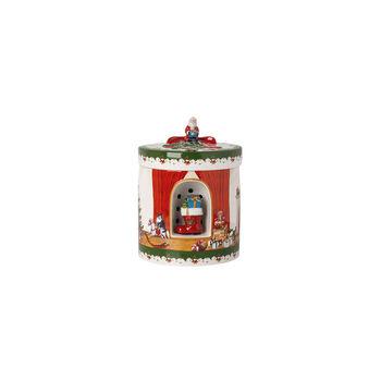 Christmas Toys Gift box large square, 2021 16x16x21,5cm