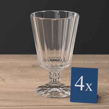 Opéra water goblet 4-piece set