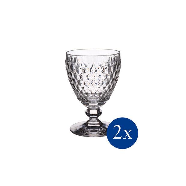 Boston White wine goblet, Set 2 pcs, , large
