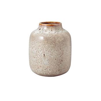 Lave Home shoulder vase, 12.5 x 12.5 x 15.5 cm, Beige