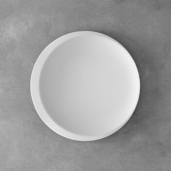 NewMoon presentation plate, 37 cm, white