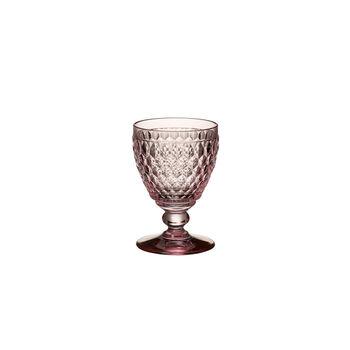 Boston Coloured White wine glass Pink