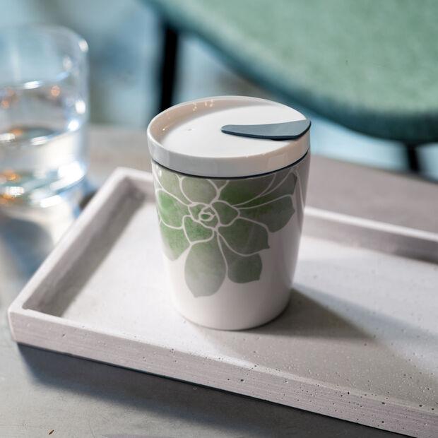 Travel coffee mug S Succulent, , large
