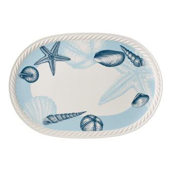 Montauk Beachside oval plate