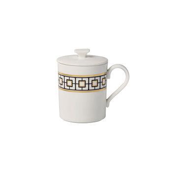MetroChic Gifts Mug with lid 11,5x8,5x11cm