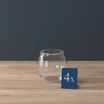 Entrée water glass, 570 ml, 4 pieces