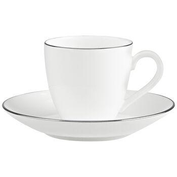 Anmut Platinum No.1 Espresso cup & saucer 2pcs