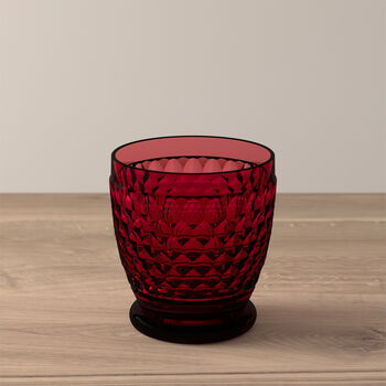 Boston Coloured Water/cocktail tumbler Red