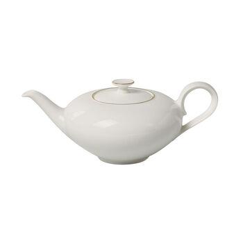 Anmut Gold teapot, 1 l, white/gold