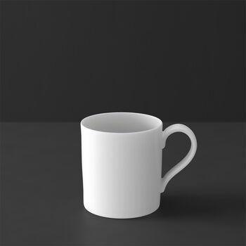 MetroChic blanc coffee cup, 210 ml, white