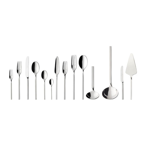 NewWave Lunch table cutlery 113 pieces, , large