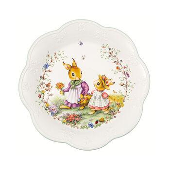 Spring Fantasy large bowl, flower meadow, 670 ml