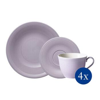 Color Loop Blueblossom coffee set, blue, 12 pieces