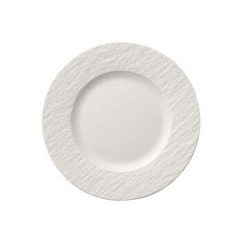 Manufacture Rock Blanc breakfast plate