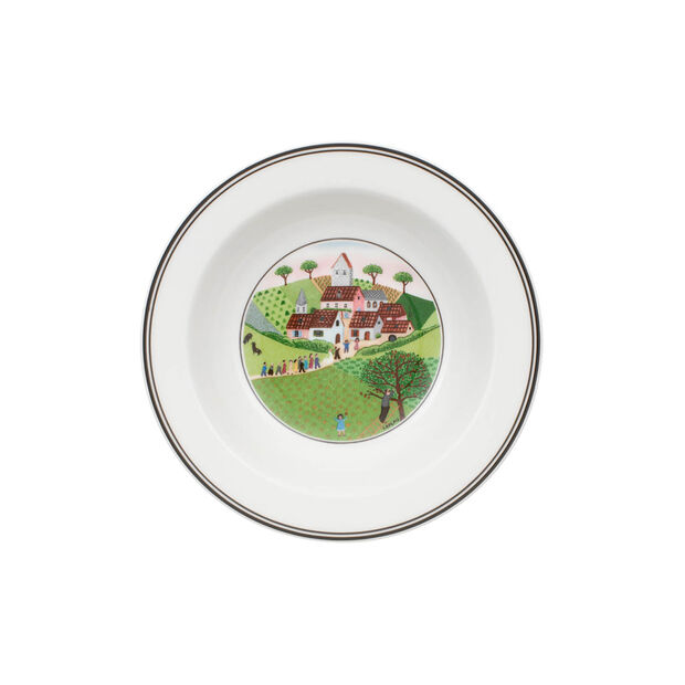 Design Naif Deep plate Marriage, , large