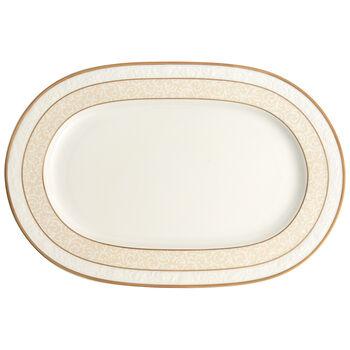 Ivoire Oval platter  35cm
